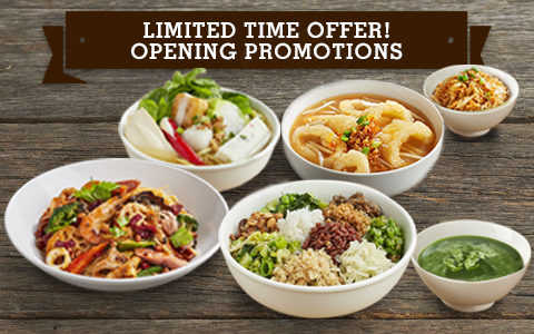 Great World City Opening Promotion for Mini Restaurants