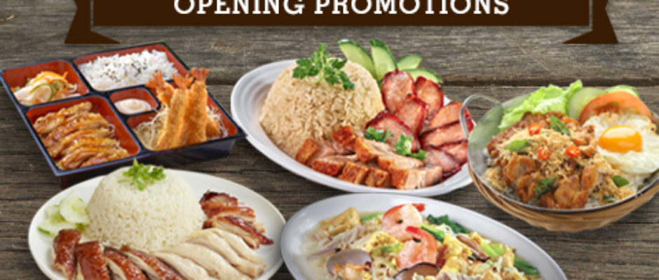 Great World City Opening Promotion for Stalls