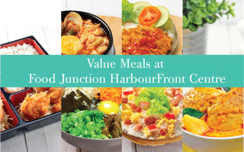 Value Meals at HarbourFront Centre!