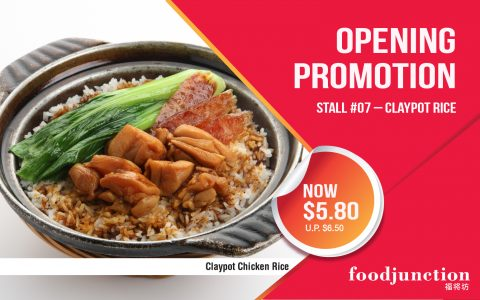 Claypot Rice Opening Promotion