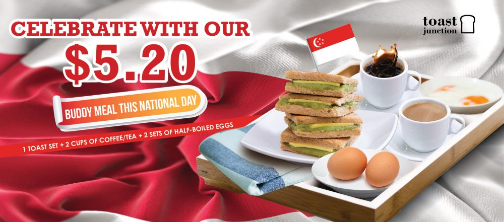 Celebrate with our $5.20 Buddy Meal this National Day!