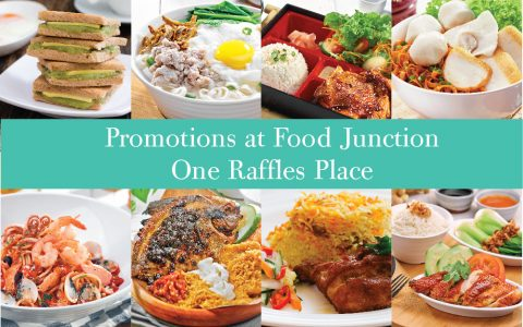 Promotions at One Raffles Place