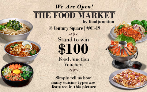 Now Open | The Food Market by Food Junction