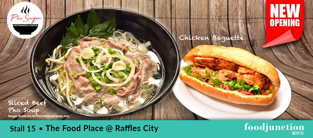 Newly Opened Pho Saigon | The Food Place Raffles City