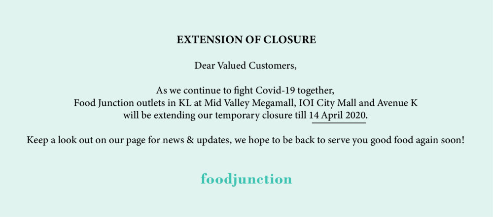Movement Control Notice_Food Junction Malaysia (Extension)